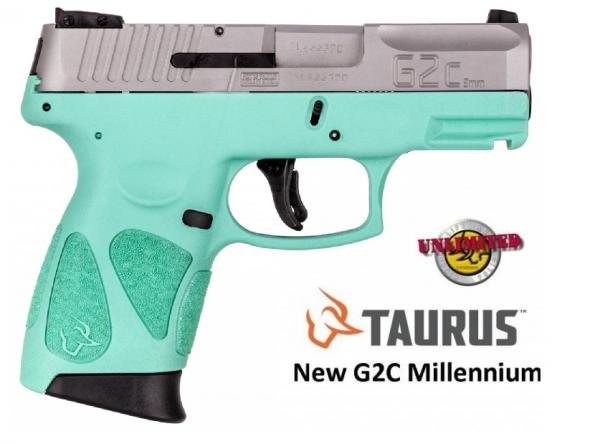 "Taurus, G2C, Semi-Auto, 9MM, 3.25"" Barrel, 12+1 Round, Polymer Frame, Stainless Slide 💲💲Cash $239.95💲💲"
