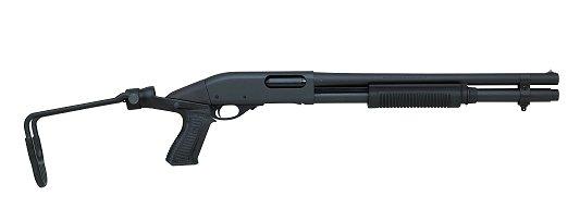"Remington 870 Pump 12 Gauge 3"" 6+1 18"" Barrel Adj. Synthetic"