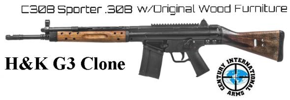 "Century Arms, C308 Semi-Automatic, 308 Winchester 18"" Barrel, 20+1 Round, Wood Stock 💲💲Cash $639.95💲💲"