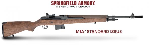 Springfield SAI M1A Standard 7.62mm NATO 22 Inch Carbon Barrel Parkerized Finish Walnut Stock 10 Round 💲💲Cash $1499.95💲💲