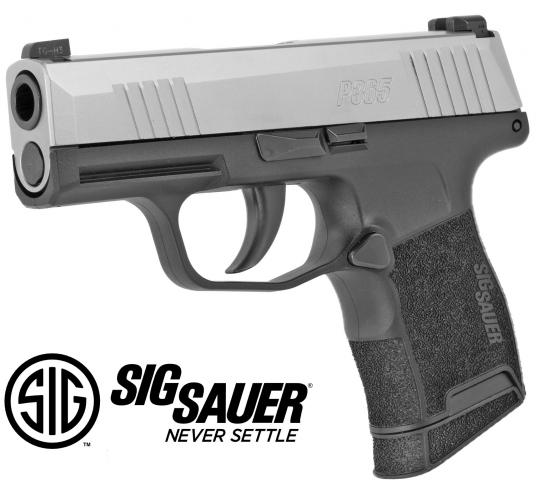 """Two Tone!!! Sig Sauer P365 9MM, 3.1"""" Barrel With Rare Stainless Slide, XRay3 Day/Night Sights, 2 Magazines, 1 Flush Fit 10Rd & 1 Extended 10Rd 💲💲Cash $469.95💲💲"""