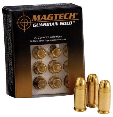 Magtech GG357A GUARDIAN GOLD 357 Rem Mag JHP 125 GR 20 Box