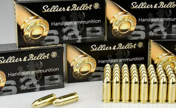 1,000 Round Case of 9mm - 115 Grain FMJ - Sellier & Bellot - 1,000 Rounds 💲💲Cash $193.95💲💲