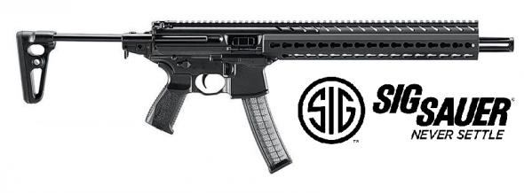 "Sig Sauer, MPX Carbine 9MM, 16"" Barrel, Black, Collapsible Stock, 30Rd, KeyMod Handguard, Ambidextrous Charging Handle 💲💲Cash $1399.95💲💲"