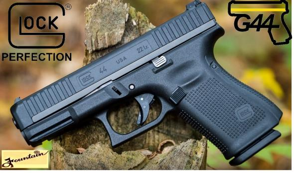 "MEGA HOT 2020!!! Glock G44 22 LR, 4.02"" Barrel, 10+1 Round, Black Finish, Interchangeable Backstrap Grip 💲💲Cash $369.95💲💲"
