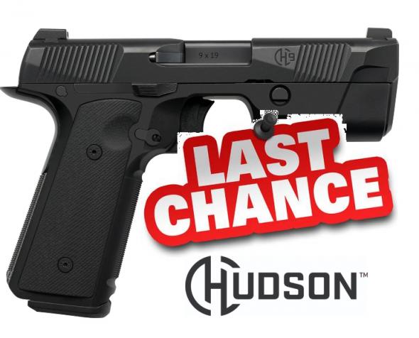 Collectible??? Hudson H-9 9mm 4.28 Inch Barrel Trijicon HD Front Sight G10 VZ Grip Steel Frame/Slide 15 Round 💲💲Cash $859.95💲💲