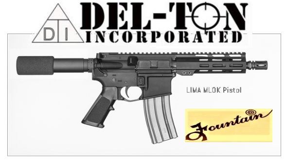 Super Value!!! Del-Ton Lima AR-15 Semi Auto Pistol 5.56 NATO 7.5' Barrel 30 Rounds M-LOK Handguard 💲💲Cash $994.95💲💲