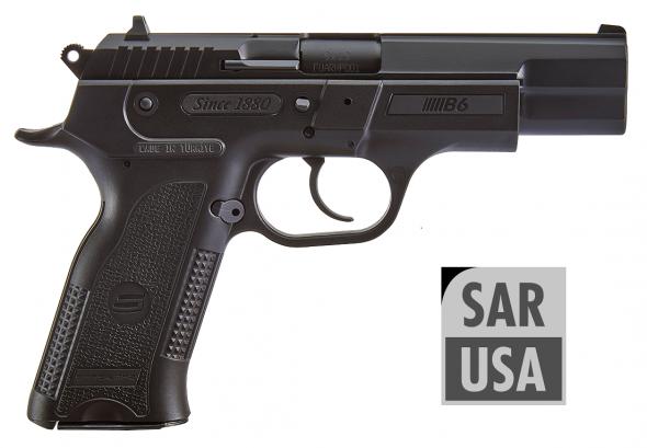 SAR USA, B6, Semi-automatic, DA/SA, 9MM, 4.5' Barrel, Polymer Frame, Black Finish, 17Rd, 2 Magazines 💲💲Cash $399.95💲💲