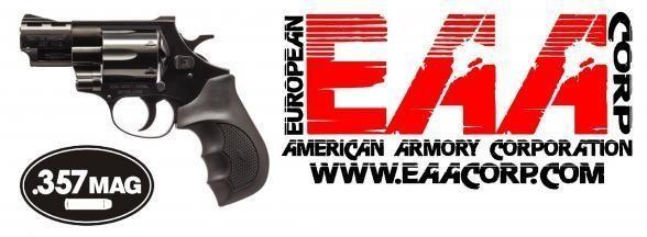 "Weihrauch Windicator EAA, .357  Mag 2"" 6rd Rubber Grip Blue Finish 💲💲Cash $369.95💲💲"