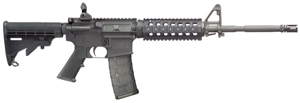 """Smith & Wesson 811008 M&P 15 X Semi-Auto 223 Rem 16"""" 30+1 Adj Buttstock Stk Black"""