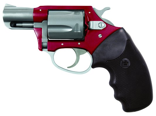 "Charter Arms Undercover Lite 38 Special 2"" 5rd Black Rubber Grip Red/SS"