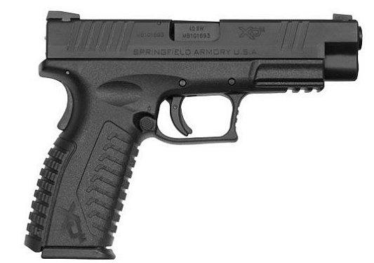 "Springfield Armory XDM Standard 40 S&W 4.5"" 16+1 Poly Grip Black"