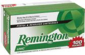 Remington UMC 23765 9MM 115Gr Metal Case Value Pack - 100 Rounds