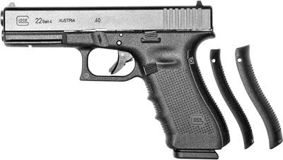 """Glock 22 Gen4 .40S&W 4.49"""" 10+1 w/FS Poly Grip Matte Black"""