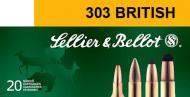 Sellier & Bellot 303 British Soft Point 150 GR 20Box/20Case