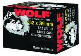 Wolf Performance 7.62mmX39mm Hollow Point 122 GR 1000Rds