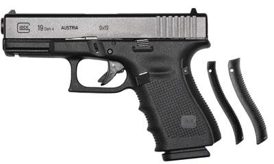 """Glock 19 Gen4 9mm 4.02"""" 10+1 w/FS 3-10rd mags Blk"""