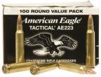 Federal AE223BL Standard 223 Rem/5.56 Nato Full Metal Jacket 55 GR 100Box/5Case
