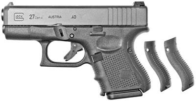 """Glock 27 Gen4 .40S&W 3.46"""" 9+1 w/Fixed Sights Black Synthetic Grip Blk"""