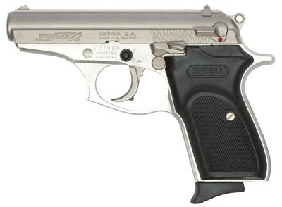 "007 Plus!!! Bersa Thunder .22 Long Rifle 3.5"" 10+1 Black Syn Grip Nickel Finish 💲💲Cash $289.95💲💲"