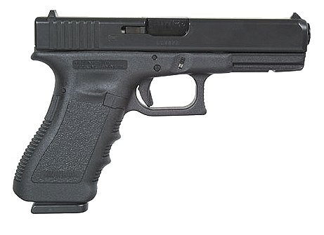 "Glock 37 Standard .45 GAP 4.49"" 10+1 w/Fixed Sights Poly Grip Blk"