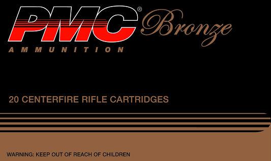 PMC 308B Bronze CF Rifle 308 Win 147Gr 20Rnd FMJ BT 7.62Nato