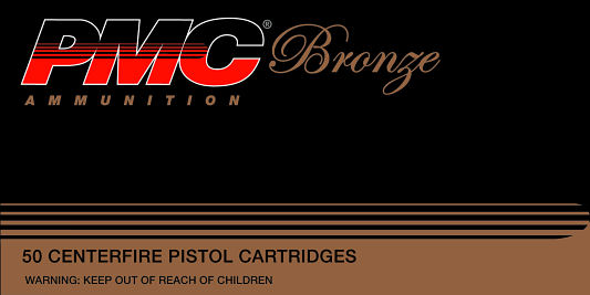 PMC 40E Bronze 40 Smith & Wesson Full Metal Jacket Flat Point 180 GR 50Box