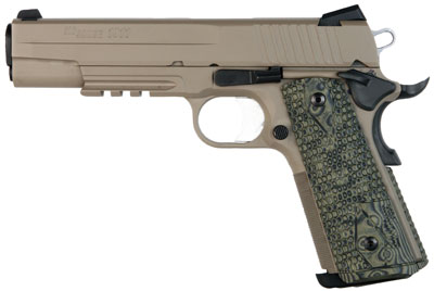 "Sig Sauer 1911 Scorpion 45 ACP 5"" 8+1 Hogue G-10 Grip Cerakote"