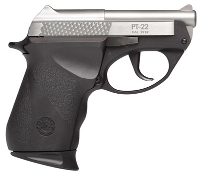 "Taurus 22 Small Frame .22 LR 2.75"" DAO 8+1 Poly Grip Stainless"