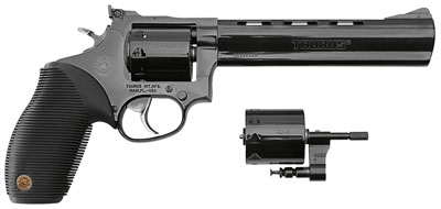 "Taurus Model 992 Tracker 22 LR/22 Mag 6.5"" 9rd Black Grip Blue Finish"