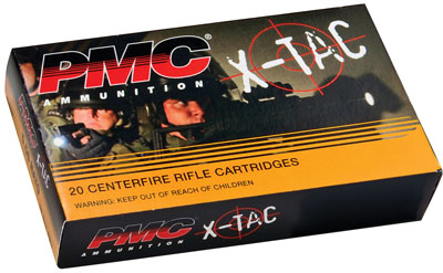 PMC 556K X-Tac GREEN TIP 223 Remington/5.56 Nato LAP 62 GR 500rd
