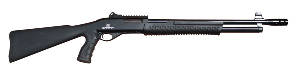 "EAA 160447 SAR Pump 12 ga 18.5"" 3"" Synthetic Black Matte Finish"