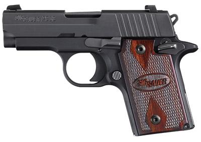 "LNIB!!!! Sig Sauer P938 9mm 3"" Barrel, 6+1 Rosewood Grip Black Finish 💲💲Cash $539.95💲💲"